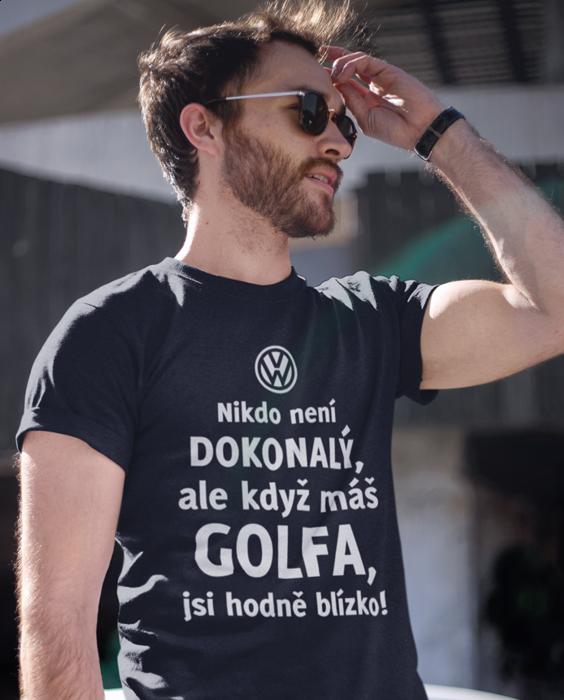 Vtipné tričko dokonalý