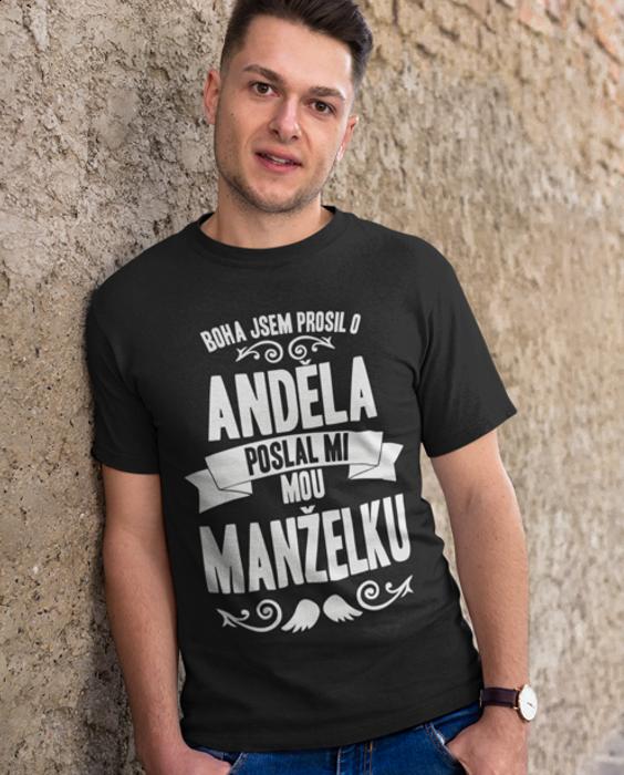Vtipné tričko poslal mi anděla