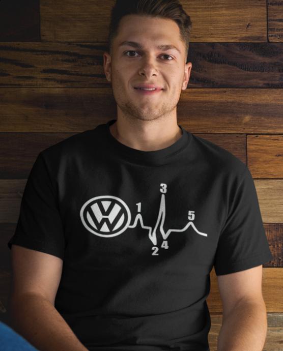 Vtipné tričko tlukot (značka na přání)