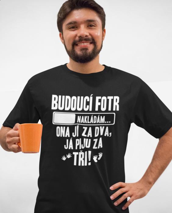 Vtipné tričko budoucí fotr!
