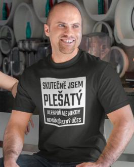 Vtipné tričko plešatý
