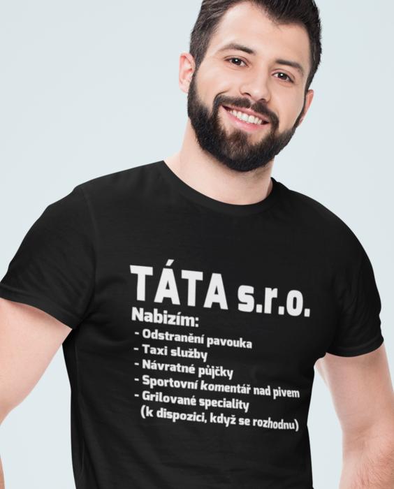Levně Vtipné tričko TÁTA s.r.o.